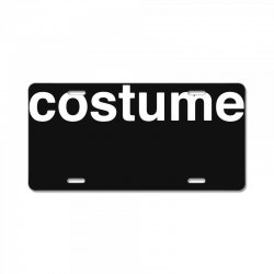 halloween costume License Plate | Artistshot