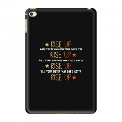 hamilton musical quote rise up iPad Mini 4 Case | Artistshot