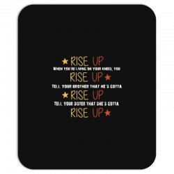 hamilton musical quote rise up Mousepad | Artistshot