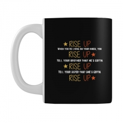 hamilton musical quote rise up Mug | Artistshot