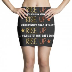 hamilton musical quote rise up Mini Skirts | Artistshot