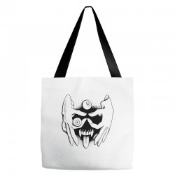 hand face Tote Bags | Artistshot