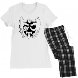 hand face Women's Pajamas Set | Artistshot