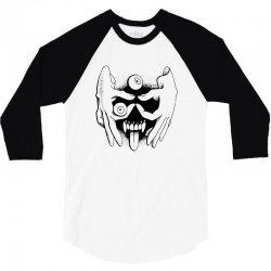 hand face 3/4 Sleeve Shirt | Artistshot