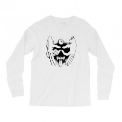 hand face Long Sleeve Shirts | Artistshot
