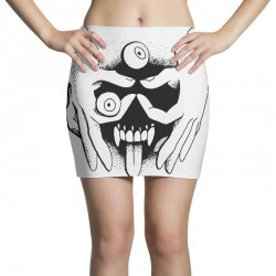 hand face Mini Skirts | Artistshot