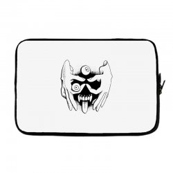 hand face Laptop sleeve | Artistshot