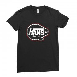 hans Ladies Fitted T-Shirt | Artistshot