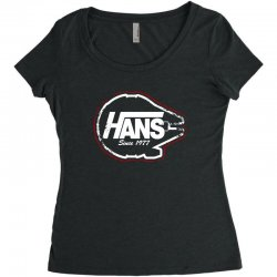hans Women's Triblend Scoop T-shirt | Artistshot