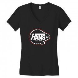 hans Women's V-Neck T-Shirt | Artistshot