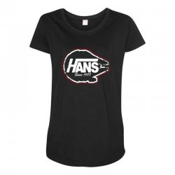 hans Maternity Scoop Neck T-shirt | Artistshot