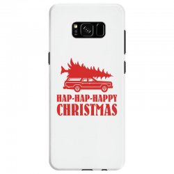 hap hap happy christmas Samsung Galaxy S8 Case | Artistshot