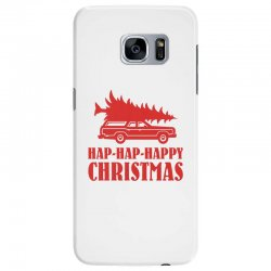 hap hap happy christmas Samsung Galaxy S7 Edge Case | Artistshot