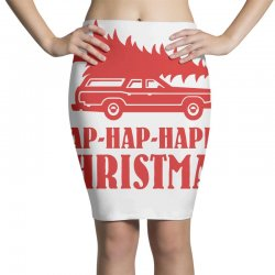 hap hap happy christmas Pencil Skirts | Artistshot