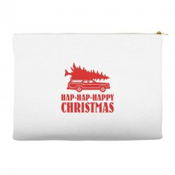 hap hap happy christmas Accessory Pouches | Artistshot
