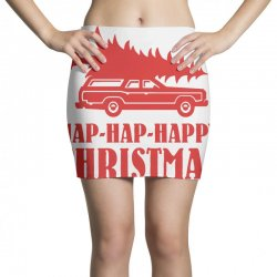 hap hap happy christmas Mini Skirts | Artistshot