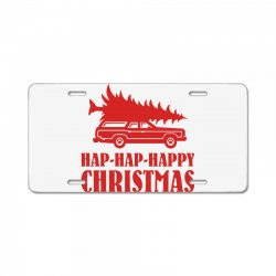 hap hap happy christmas License Plate | Artistshot