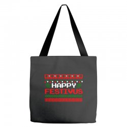 happy festivus ugly christmas Tote Bags | Artistshot
