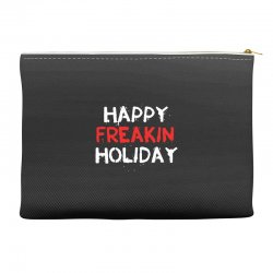 happy freakin holiday Accessory Pouches | Artistshot
