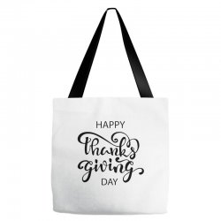 happy thanks giving caption Tote Bags | Artistshot