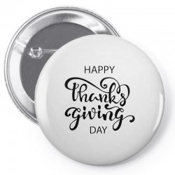 happy thanks giving caption Pin-back button | Artistshot
