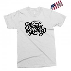 happy thanks giving Exclusive T-shirt | Artistshot