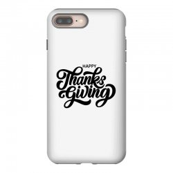 happy thanks giving iPhone 8 Plus Case | Artistshot