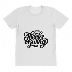 happy thanks giving All Over Women's T-shirt | Artistshot