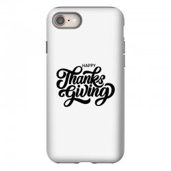 happy thanks giving iPhone 8 Case | Artistshot