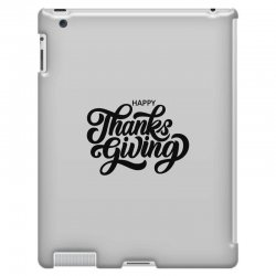 happy thanks giving iPad 3 and 4 Case | Artistshot