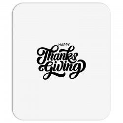 happy thanks giving Mousepad | Artistshot