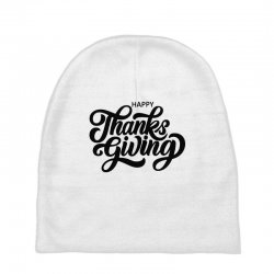 happy thanks giving Baby Beanies | Artistshot