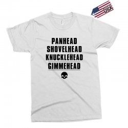 harley davidson t shirt gimmehead t shirt knucklehead engine Exclusive T-shirt | Artistshot