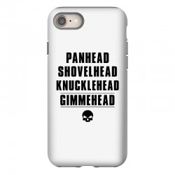 harley davidson t shirt gimmehead t shirt knucklehead engine iPhone 8 Case | Artistshot