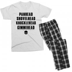 harley davidson t shirt gimmehead t shirt knucklehead engine Men's T-shirt Pajama Set | Artistshot