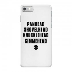 harley davidson t shirt gimmehead t shirt knucklehead engine iPhone 7 Case | Artistshot