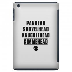 harley davidson t shirt gimmehead t shirt knucklehead engine iPad Mini Case | Artistshot