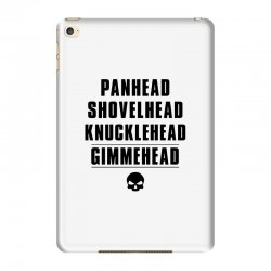 harley davidson t shirt gimmehead t shirt knucklehead engine iPad Mini 4 Case | Artistshot