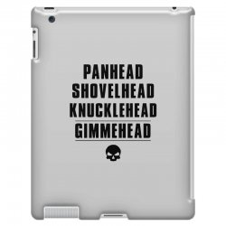 harley davidson t shirt gimmehead t shirt knucklehead engine iPad 3 and 4 Case | Artistshot