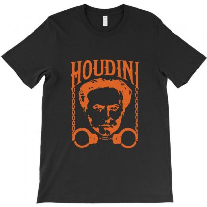 Harry Houdini T Shirt Vintage Harry Houdini T Shirt T-shirt Designed By Tee Shop