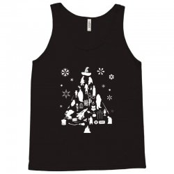 harry potter christmas tree silhouette Tank Top | Artistshot