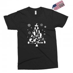 harry potter christmas tree silhouette Exclusive T-shirt | Artistshot