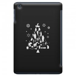 harry potter christmas tree silhouette iPad Mini Case | Artistshot