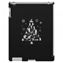 harry potter christmas tree silhouette iPad 3 and 4 Case | Artistshot
