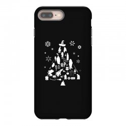 harry potter christmas tree silhouette iPhone 8 Plus Case | Artistshot