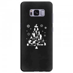 harry potter christmas tree silhouette Samsung Galaxy S8 Plus Case | Artistshot
