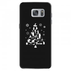 harry potter christmas tree silhouette Samsung Galaxy S7 Case | Artistshot