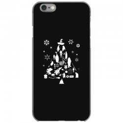 harry potter christmas tree silhouette iPhone 6/6s Case | Artistshot