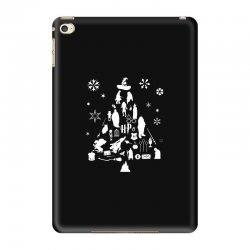 harry potter christmas tree silhouette iPad Mini 4 Case | Artistshot