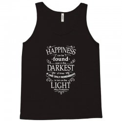 harry potter dumbledore happiness quote Tank Top | Artistshot